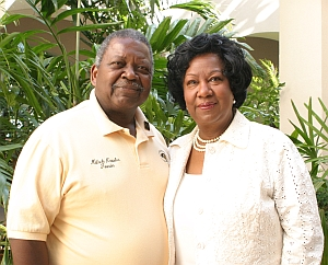 Founder Malachi Knowles and President of UMES, Dr. Thelma B. Thompson