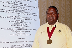 Malachi Knowles, Founder of the AAGHOF with Presidential Medal