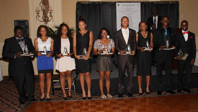 2013 AAGHOF Collegiate & Youth Golfers Hall of Fame inductees.